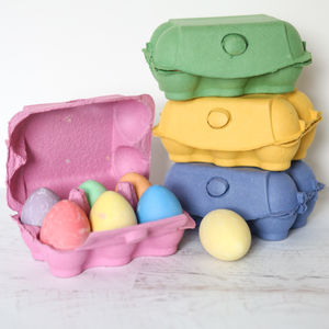 Box Of Chalk Eggs - over 5