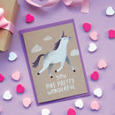Wonderful Unicorn Card