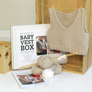 Baby Vest Beginner Knitting Kit