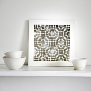 Geometric Pattern Wall Art