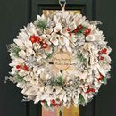 Personalised Country Charm Christmas Wreath