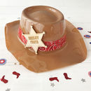 Cowboy Party Personalised Wild West Stetson Hat