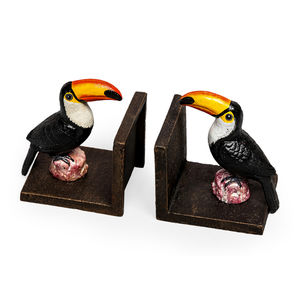 Decorative Toucan Bookends