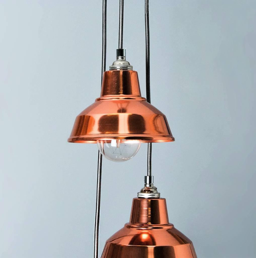 Chandeliers Pendant Lights: Copper Chandelier Pendant Light Shade By Bare Bones