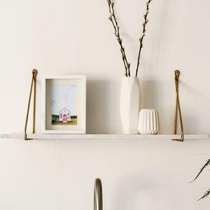 Marble Hanging Shelf - shelves