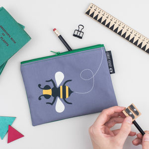 Bee Purse Or Insect Pencil Case