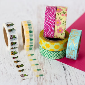 Tropical Washi Tape - wrapping