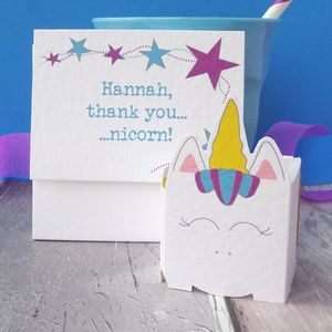 Personalised Cute Thank You Card