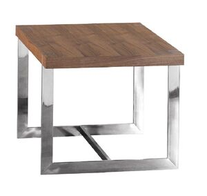 Morcott Walnut End Side Table