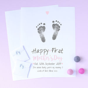 Personalised Happy First Mother's Day Inkless Print Kit