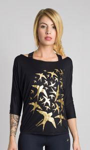 Swallow Flock Long Sleeve - tops & t-shirts