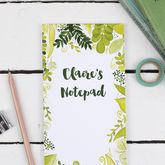 Botanical To Do List Notepad - trends
