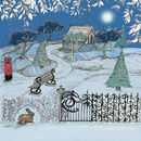 'Winter Garden' Mixed Pack Of 10 Christmas Cards