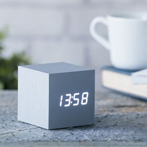 Cube Click Clock - gifts for brothers