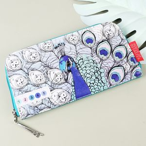 'Colour Me' Peacock Wallet