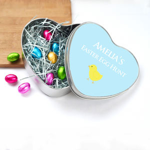 Personalised Easter Egg Hunt Chocolates - easter eggs