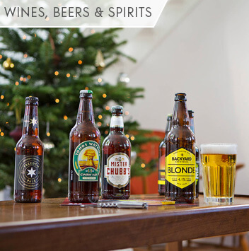 shop wine, beers and spirits