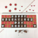 Valentine's Day Box Of Personalised Chocolates