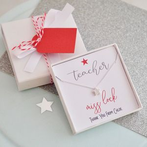 Best Teacher Necklace Gift - necklaces & pendants