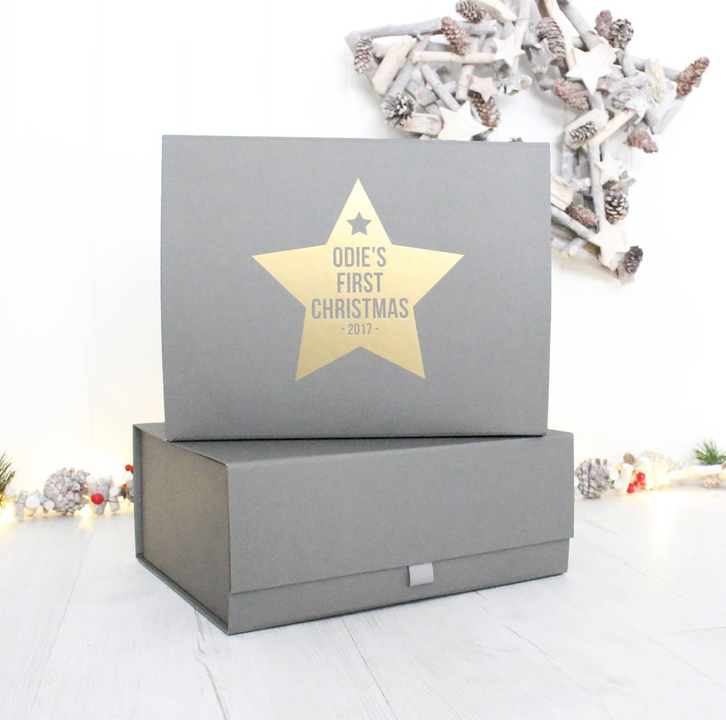 baby's first christmas luxury gift hamper by precious little plum ...