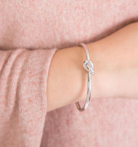 Friendship Knot Bangle - jewellery sale