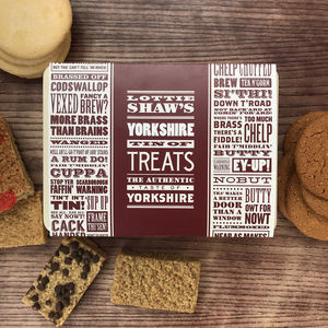 Tin Full Of Yorkshire Treats - shop by location