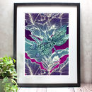 Dragonfly Lily Limited Edition Mounted Giclée Art Print