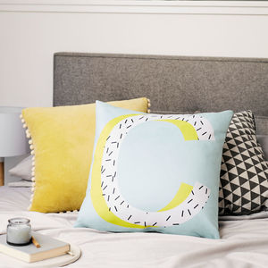 Personalised Alphabet Letter Cushion