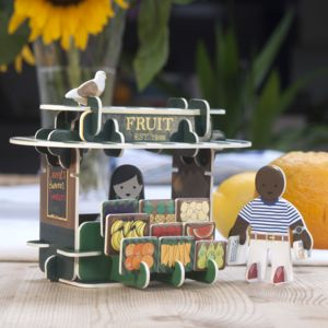 Greengrocers Pop Out Construction Playset - brand new sellers