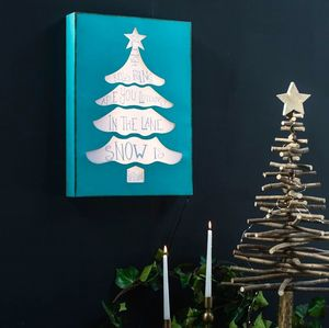Christmas Tree Light Box