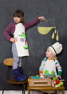 Junior Masher Chef / Kids Cooking Set - pretend play & dressing up