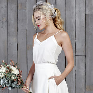 Dimmock Silk Bridal Camisole - wedding fashion