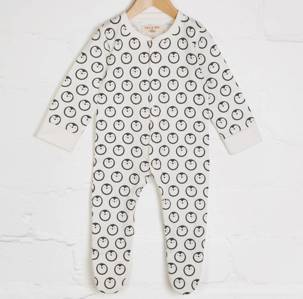 902ad272b7dc penguin babygrow by lucy   sam