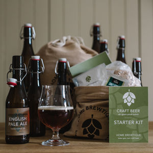 Pale Ale Homebrewing Gift Set