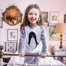 Personalised Penguin Children's Pyjamas