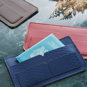 Personalised Travel Wallet - 3rd anniversary: leather