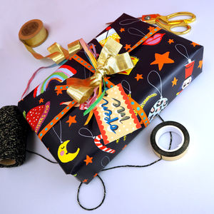 Christmas Baubles Gift Wrap - cards & wrap