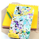 Personalised Yellow Splat Case for IPhone 4/4s