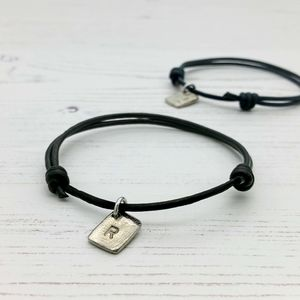 Personalised Tag Couples Bracelet