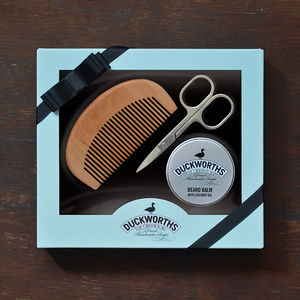 Moustache And Beard Grooming Gift Box