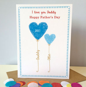 Personalised Father's Day Card - personalised