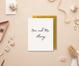 Simple Classic Valentine's Card