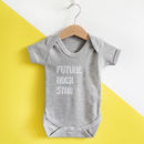 Future… Personalised Baby Grow