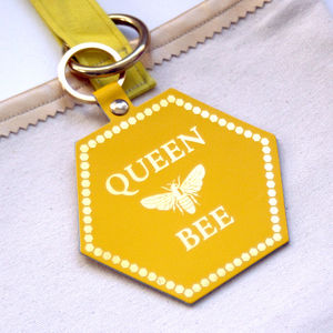 Queen Bee Bag Charm
