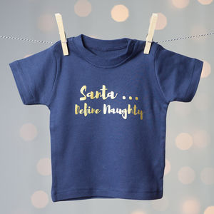 Santa Define Naughty T Shirt - christmas t shirts