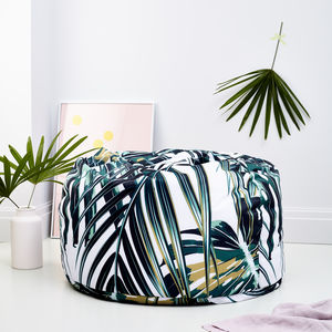Light Botanical Adult Bean Bag