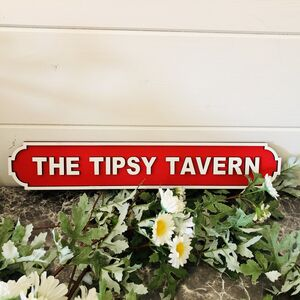 Pub / Bar Vintage Personalised Wooden Road Signs