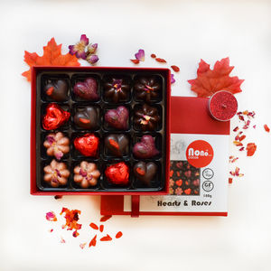 Nono Cocoa Hearts And Roses Chocolate Gift Box