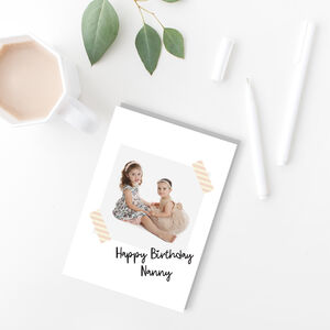 Personalised Photo Greeting Card