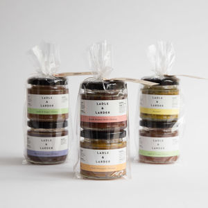 Build Your Own Mini Chutney Gift Bag - autumn pantry